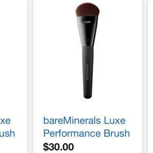 Bare minerals Luxe performance brush NWT